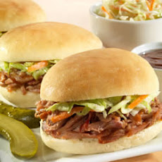 Sister Schubert's® Barbecue Pulled Pork or Chicken Mini-Sliders