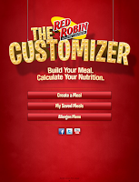 Screenshot of Red Robin Customizer