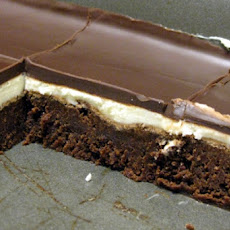 Triple-Layered Brownie Squares