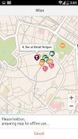 Screenshot of Milan City Guide