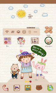 Have a nice day dodol theme - screenshot