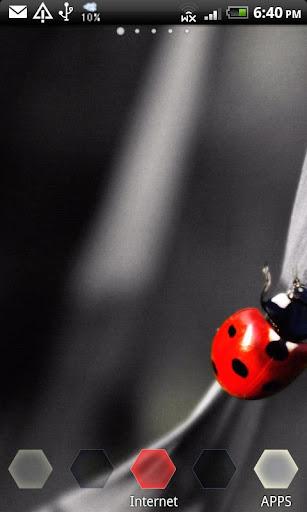 ArteLauncher Happy ladybug