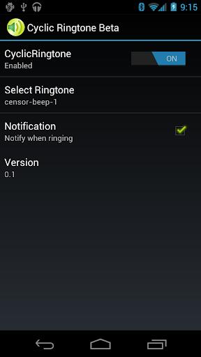 Cyclic Ringtone Beta