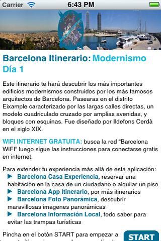 Barcelona Itinerario Mod-D1