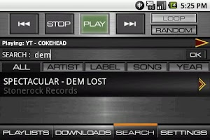Screenshot of REGGAE MUSIC EXCLUSIVE
