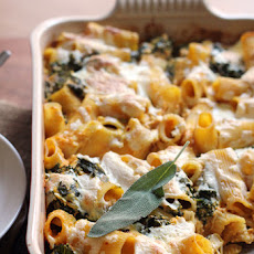 Pumpkin Baked Ziti with Sage