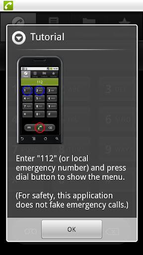 空虛電話 : 假裝牌撥號機