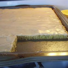 Frosted Cinnamon Zucchini Bars