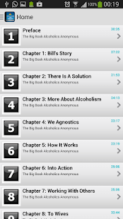 Big Book- Alcoholics Anonymous - screenshot