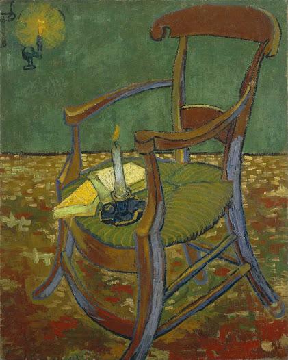 Gogh Vincent van, La sedia di Gauguin