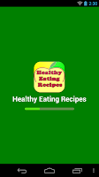 Screenshot of healthy eating recipes