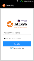 Screenshot of NomzyPay Retailer
