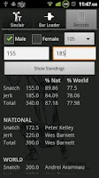 Screenshot of Weightlifting Calculator