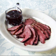 Duck Breasts with Citrus Port Cherry Sauce