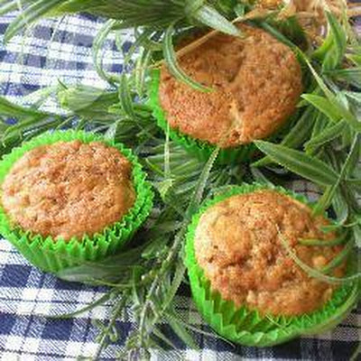 Apple Bran Muffins With Streusel Topping