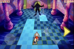 Screenshot of Dragon's Lair