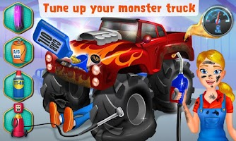Screenshot of Mechanic Mike - Monster Truck