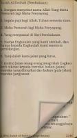 Screenshot of Al-Quran Bahasa Indonesia