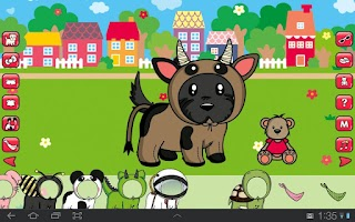 Screenshot of Dress Up! Cute puppies