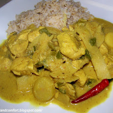 Thai Massaman Chicken Curry
