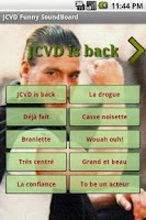 Screenshot of JCVD Funny Soundboard
