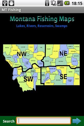 Montana Fishing Maps - 14K