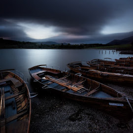 .....about tea time by John Horner - Transportation Boats