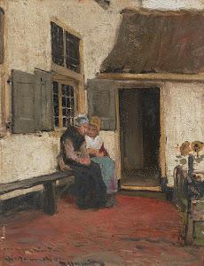 RIJKS: Bernardus Johannes Blommers: painting 1907