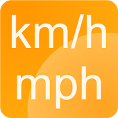 Download  Speedometer km/h - mph Simple  Apk