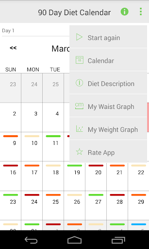 90 Day Diet Pro - screenshot