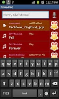 Screenshot of RINGME xMAS Ringtone Maker