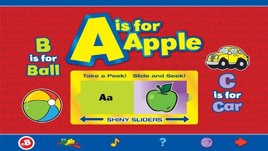 A is for Apple - screenshot