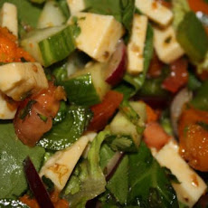 Caramelised Pumpkin Salad With Chilli Jam Juice Dressing