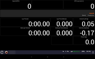 Screenshot of CMS Lap Timer (GPS Laptimer)