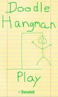 Screenshot of Doodle Hangman