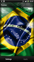 Screenshot of Brazil Live Wallpaper