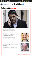 Screenshot of la Repubblica.it