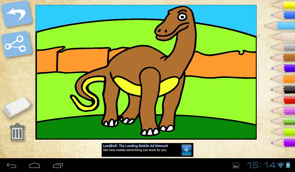 Играть в игры раскраски динозавры