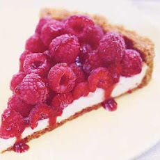 Raspberry Sour Cream Tart