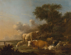 RIJKS: Albert Jansz. Klomp: painting 1688