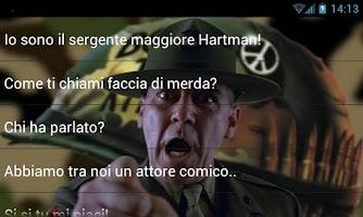 Screenshot of Sergente Hartman