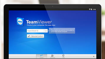 Screenshot of TeamViewer for Remote Control