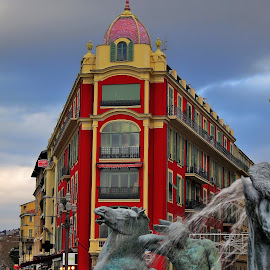 Urbain by Bertrand Lavoie - City,  Street & Park  Street Scenes ( nice )