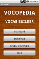Screenshot of Vocopedia lite