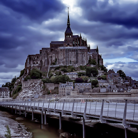 Mont Saint-Michel by Travis Pambu - City,  Street & Park  Skylines (  )