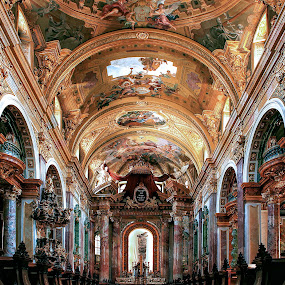 by Гојко Галић - Buildings & Architecture Other Interior ( god, church, ceiling, cathedral, architecture )