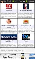 Screenshot of Mobo TV News & Listings
