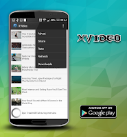 Screenshot of XVideo