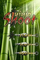 Screenshot of Ninja Shoot
