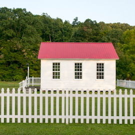 One Room Schoolhouse  by Joyce White - Buildings & Architecture Other Exteriors